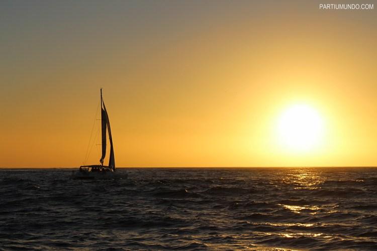 Pôr do sol em Cape Town 1