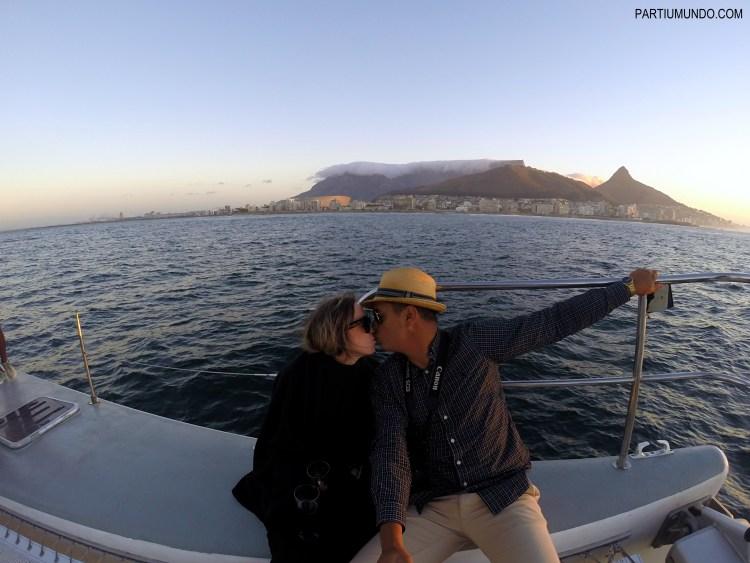 Pôr do sol em Cape Town 16