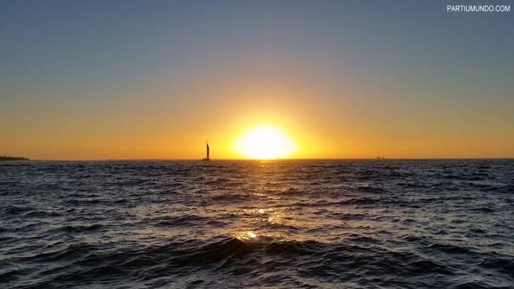 Pôr do sol em Cape Town 3