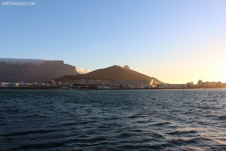Pôr do sol em Cape Town 9