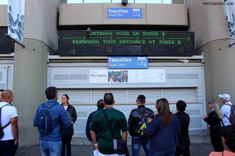 Santiago Bernabéu Stadium Tour