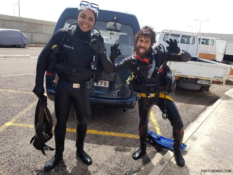 diving in malta