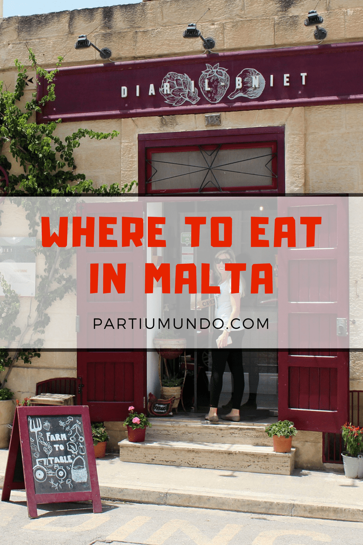 Where to eat in Malta