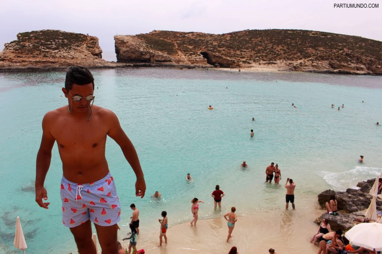 Blue Lagoon in Malta