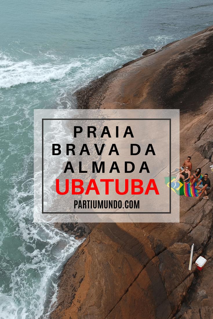 Trilha da Praia Brava da Almada (Pinterest)