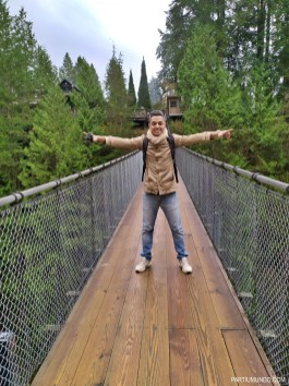 Parque Capilano Suspension Bridge 23