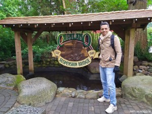 Parque Capilano Suspension Bridge