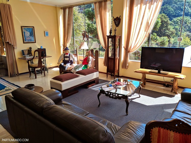 Where to stay in Campos do Jordao - lobby