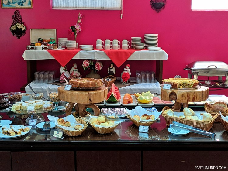Where to stay in Campos do Jordao - breakfast