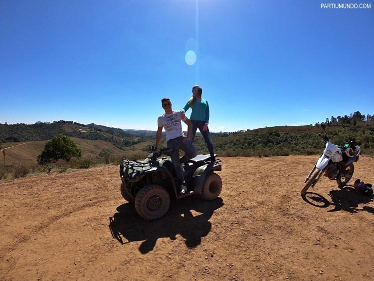 Quad bike tour in Campos do Jordao