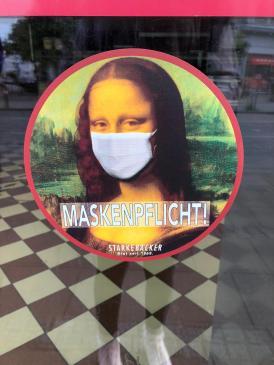 Serie Maskenpflicht Deutschland, Bremen (Foto Klaara Teetz)