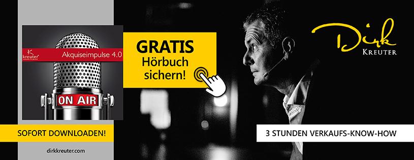 Akquiseimpules 4.0 - Dirk Kreuter, kostenloses Buch