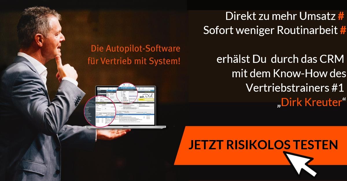 effektiver Vertrieb mit Software auf Autopilot
