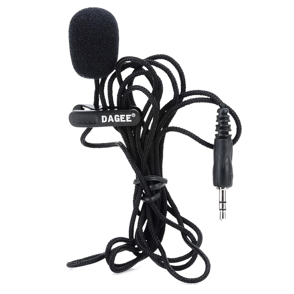 medium resolution of details about mini wired 3 5mm universal jack nylon collar clip microphone for pc phone