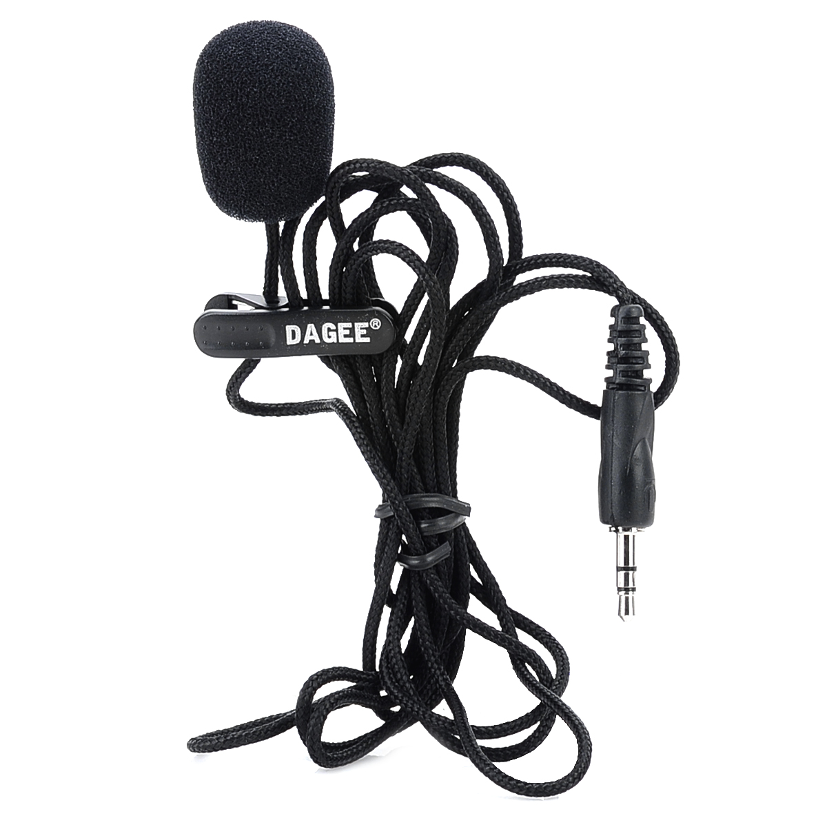 hight resolution of details about mini wired 3 5mm universal jack nylon collar clip microphone for pc phone