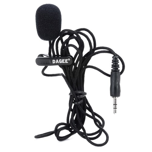small resolution of details about mini wired 3 5mm universal jack nylon collar clip microphone for pc phone