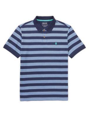 Advantage performance feeder stripe polo  shirt also izod rh izodrtnerbrands