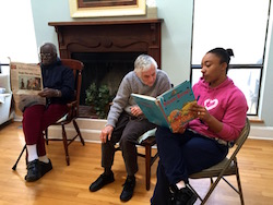 Residents Enjoy Reading