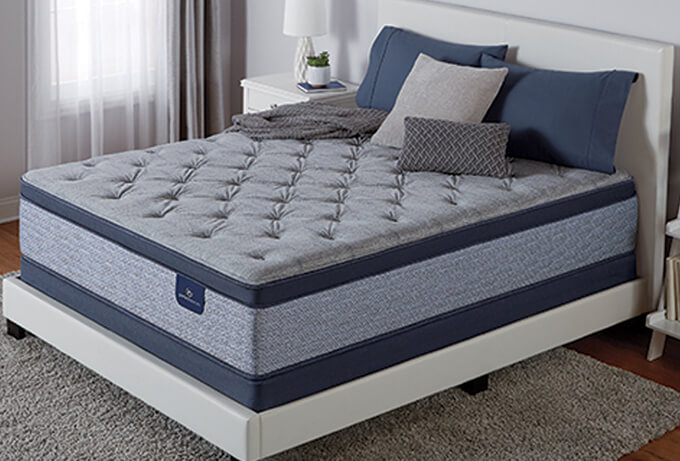 perfect sleeper icollection milford plush pillow top