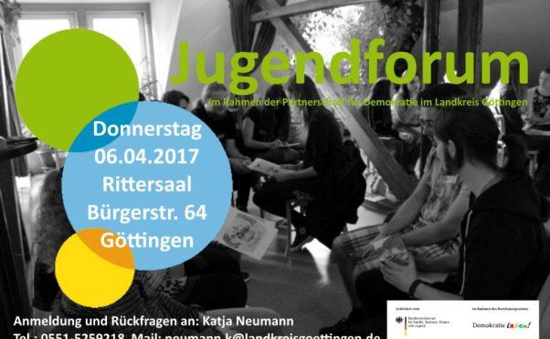 Zweites Jugendforum im Jahr 2017