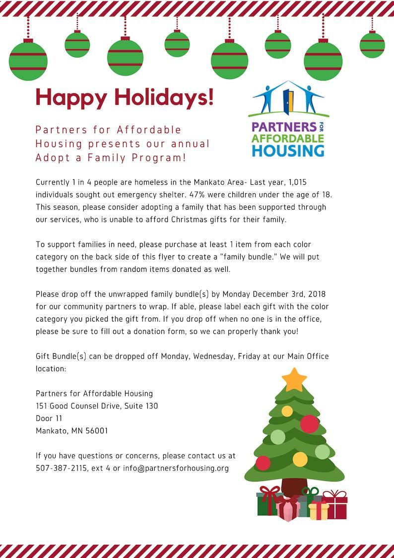 Adopt A Family For Christmas 2016 : adopt, family, christmas, Adopt, Family, Christmas, FamilyScopes