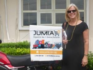 Jumia Delivery Spokesmodel