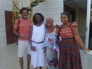 kweku and girls