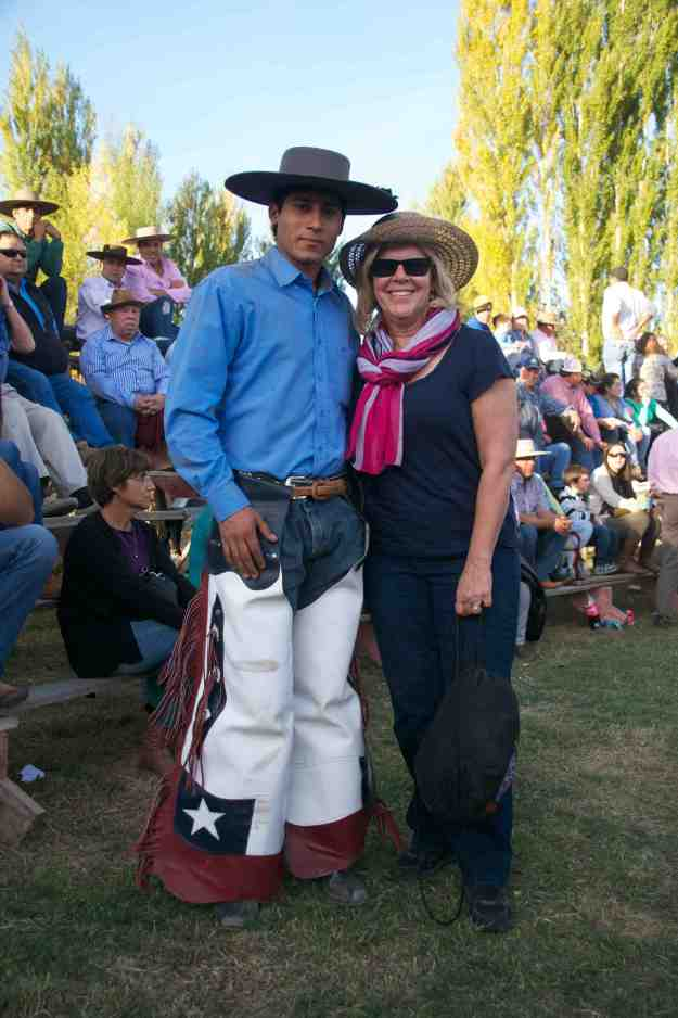 Jan and Chilean Cowboy