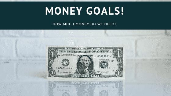 """money goals"""