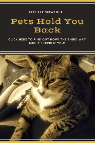 how pets hold you back