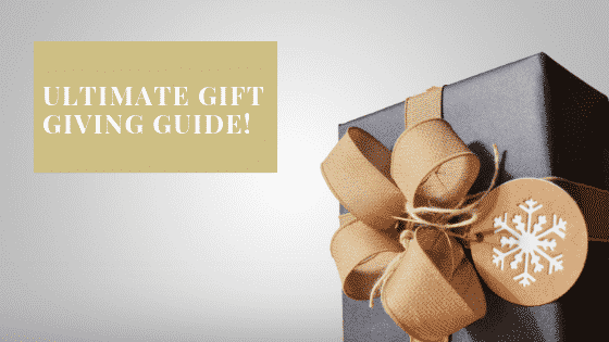 """gift giving guide"""