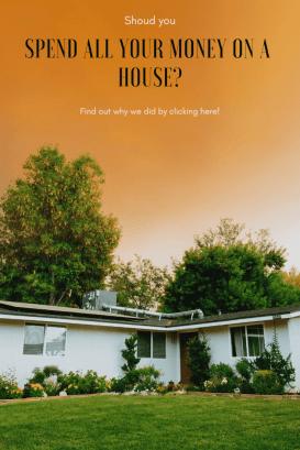 """Savings on a house"""