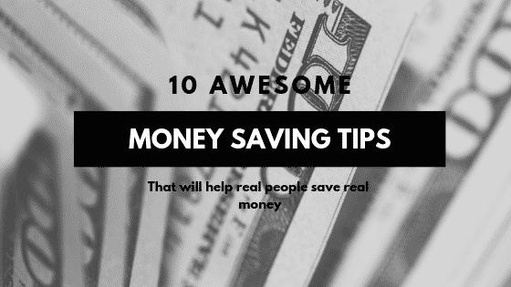 """Money saving tips"""