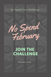 """no spend February challenge"""