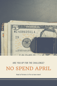 No spend April