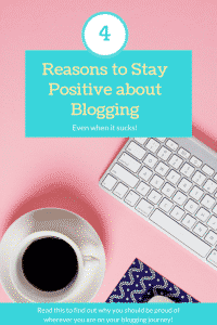 """positive about blogging"""