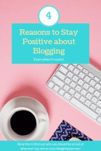 """positive about blogging"""