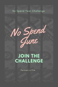 """no spend june"""