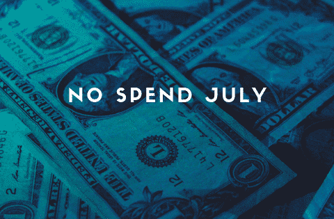 """no spend July"""
