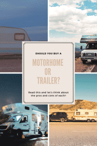 """should I buy a motorhome or rv"""