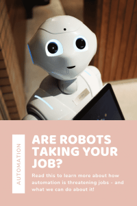 """""""threat of automation"""""""