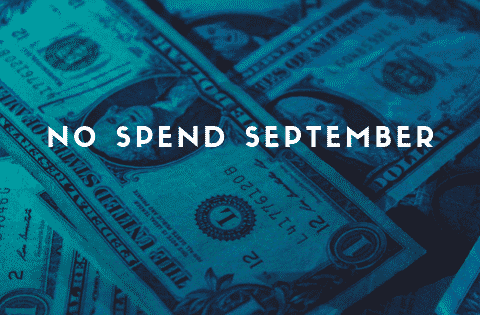 no spend September