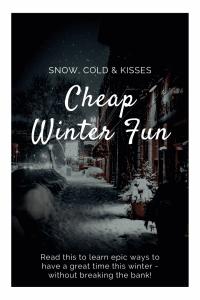 """cheap winter fun for couples"""
