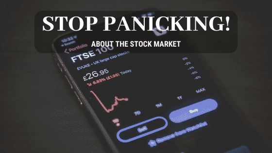 stop panicking about the stock market
