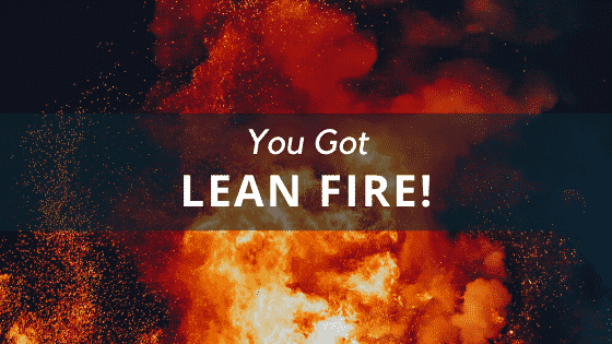 what type of fire lean fire