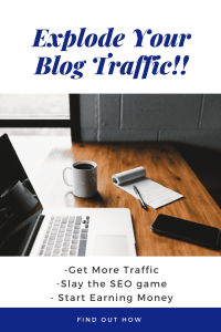 Blogging mastermind group pin