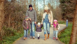 More opportunities for active living helps lead families to a healthier lifestyle