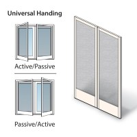 White Double Hinged Insect Screen Kit - 2592053 Hinged ...