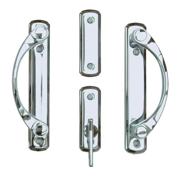 newbury polished chrome trim set 2565688 andersen doors