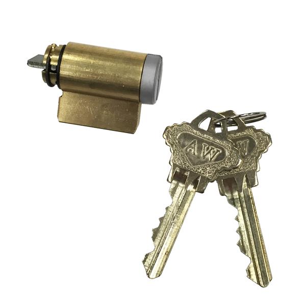 chrome lock cylinder 2579641 andersen windows doors